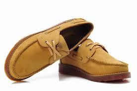timberland classic men yellow brown 2 eye boat shoes tim 048