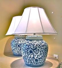 white ginger jar l ginger jar table ls huge ceramic l vase white bomer