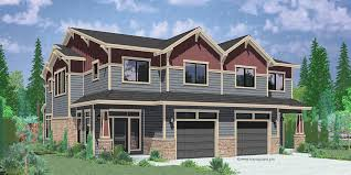 multi family house plans duplex homes zone