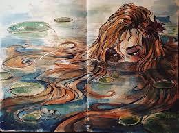 Challenge Drown You Challenge Oceans And Drown In Puddles Inktober Gretlusky