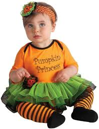 pumpkin princess baby costume girls costumes kids halloween