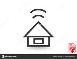 modern house icon u2014 stock vector lovart 134423856