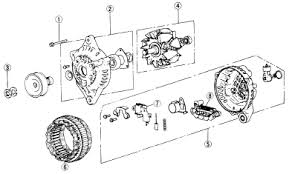 1989 mazda rx 7 alternator schematic diagram