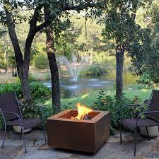 Wood Burning Firepit Vesta Fia 30 Wood Burning Pit Woodlanddirect Outdoor
