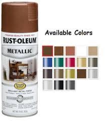 rust oleum american accents designer metallic spray paint