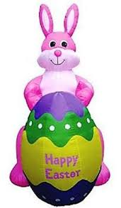 Walmart Easter Outdoor Decorations by Details About Easter Yard Decoration Inflatable Outdoor Lighted