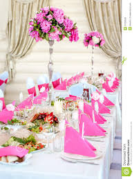wedding table decor wedding table decorations royalty free stock image image 31659556