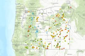interactive map of geothermal and springs in oregon