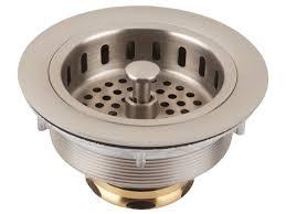 Kitchen Sink Strainer Basket Replacement Attractive Kitchen Sink Basket Strainer Replacement Easy Plumbing