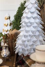 diy tree plastic spoon craft the heathered nest