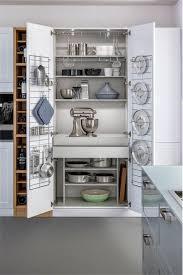 Practical Kitchen Designs Kitchen Design Wall Mount Rack Behind Door Grey Flooring White