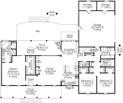 country style house plan 3 beds 2 5 baths 2034 sq ft plan 406