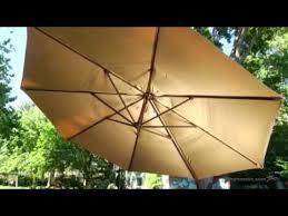 13 Foot Cantilever Patio Umbrella Treasure Garden 13 Ft Rotating Offset Umbrella And Base With Tilt