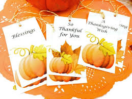 pumpkin thankful for you watercolor gift tags thanksgiving tags