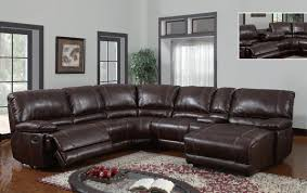 adorable leather recliner sectional sofa black leather sectional