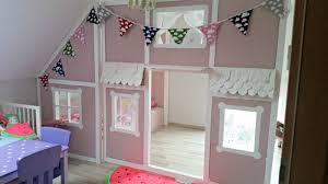 diy kinderzimmer diy ein hausbett im kinderzimmer chellisrainbowroom