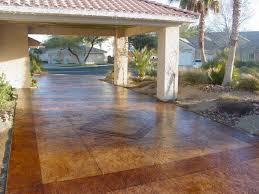 Covering Old Concrete Patio by Decorative Concrete Driveways Concrete Texturingconcrete Texturing