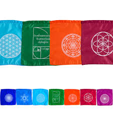 Small Prayer Flags Flags Aromatherapy Essential Oils Healing Crystals And Stones