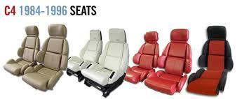 corvette seat covers c4 corvette parts c4 1984 1996 seat covers