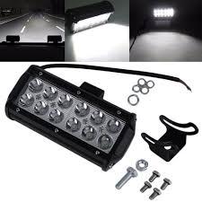 Led Lights Bar by 2x 36w 7inch Cree Spot Led Light Bar Suv 4x4 Jeep Bumper Boat Atv