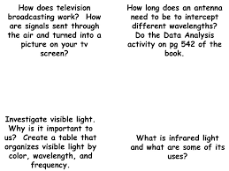 what is infrared light used for careers operating a camera on a movie set ppt download