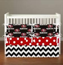 49ers Crib Bedding San Francisco Niners 49ers Theme Inspired Crib Bedding More