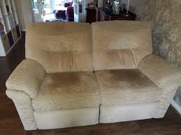 G Plan Recliner 2 X G Plan Recliner Rush Sand Sofas One Large Two Seater And One