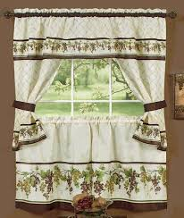 Cafe Tier Curtains Tuscany Curtains Features Ready To Pick Off The Vine These