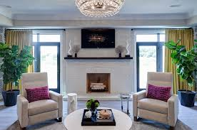Design Living Room With Fireplace And Tv Edyta U0026 Co Modern Family Room Fireplace And Tv Area U2013 Edyta U0026 Co
