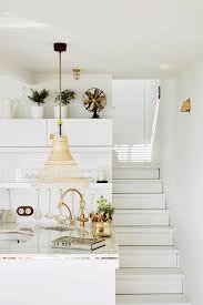 All White Home Interiors House Tour The Most Chic U0026 Tiny Italian Riviera Cabin Coco