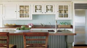 install kitchen backsplash cottage style kitchens cottage kitchen beadboard backsplash easy