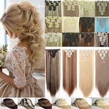 clip in hair extensions uk clip in real hair extensions ebay