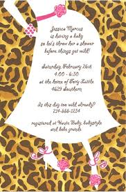 cheetah baby shower baby shower invitation by blue