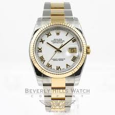 rolex white gold oyster bracelet images Rolex datejust watch 116233 beverly hills watch company jpg