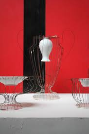 Steel Vases Reborn Porcelain And Stainless Steel Vases By Lin Wei Teng