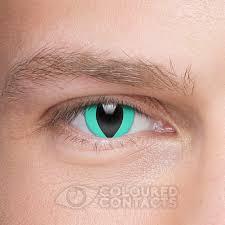 cat u0027s eye 90 day aqua blue coloured contact lenses coloured