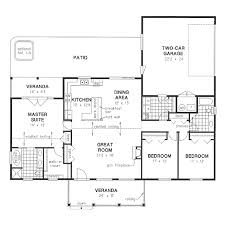 ranch style house plan 3 beds 2 baths 1820 sq ft plan 18 4512