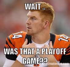 Cincinnati Bengals Memes - 23 best memes of andy dalton the cincinnati bengals losing to