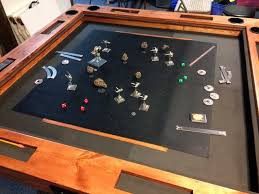 diy board game table gaming table plans home plans