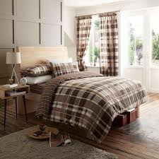 wholesale bulk luxury decor check brown duvet cover wholesale