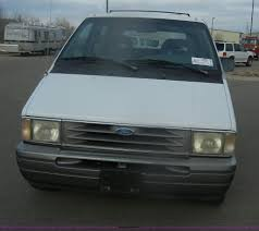 1995 ford aerostar xlt van item d4550 sold tuesday janu