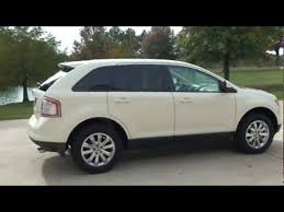 white ford edge 2007 ford edge suv sel plus white low for sale see
