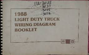 1988 chevy truck wiring diagram wiring diagram simonand