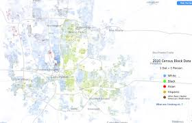 map of columbus racial census map of columbus 1 dot 1 person link to zoomable