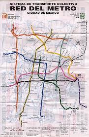 Metro New York Map Mapa Del Metro De México D F Con Calles Mapas Pinterest
