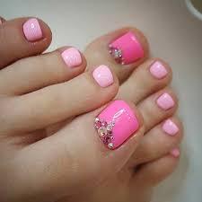 25 toe nail designs that scream summer pink toe nails toe nail