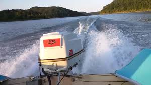 1960 aristocraft funliner with a 1960 johnson 75 hp v4sl 12 youtube