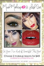 make up classes nj nj makeup classes muah makeup and lash bar westwood new jersey