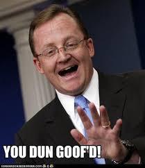 You Dun Goofed Meme - memebase robert gibbs all your memes in our base funny memes