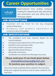 Hired Immediately Vivo Mobile Ltd Jobs 2017 Available For Various Sales Marketing